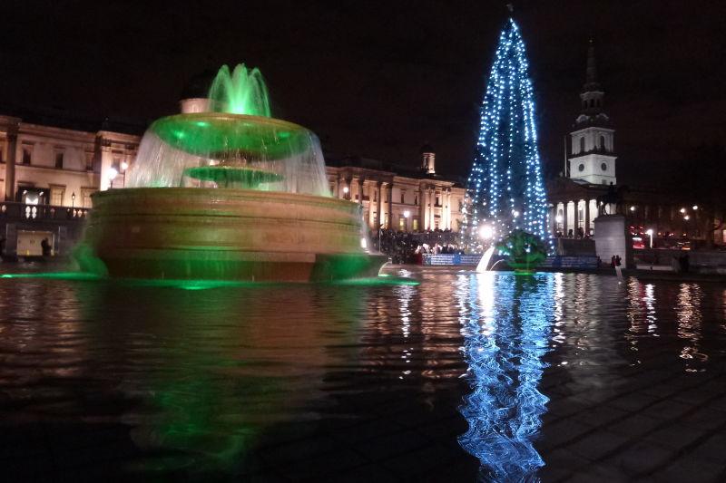 Trafalgar Square December 13th