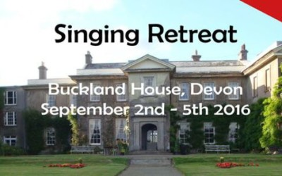 Singing retreat 2016
