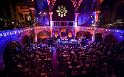 Performing at the Union Chapel