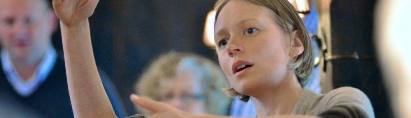 Briony Greenhill Vocal Improv workshop