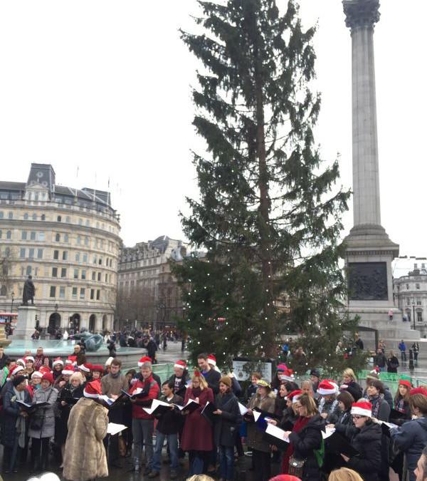 Trafalgar Square Carols