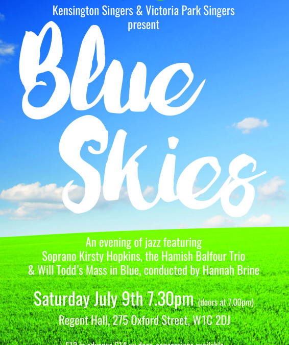 Blue Skies – Summer Concert